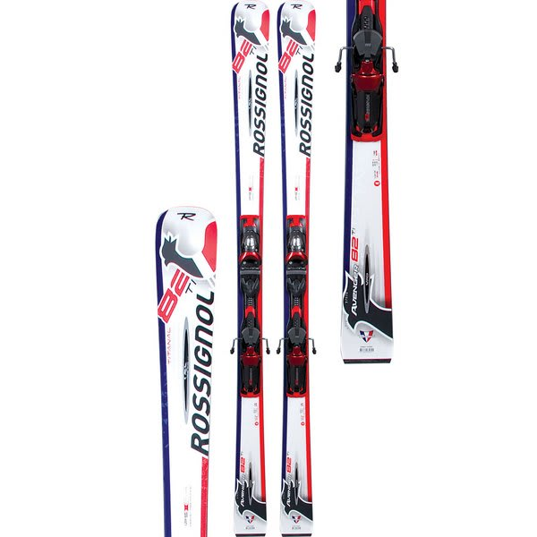 Rossignol Avenger 82 140Ti Tpi Skis W/ Axial 120 Bindings