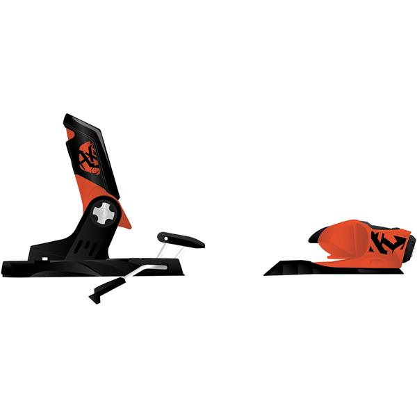Rossignol Axial2 120Xl Ski Bindings Fluo Orange 100Mm U.S.A. & Canada