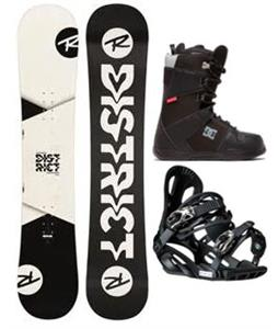 Rossignol District B&W Wide Snowboard Package