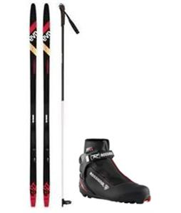 Rossignol Evo OT 65 IFP Positrack XC Skis/Control Step In Bindings + Boots & Poles Package