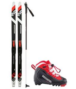 Rossignol Evo XC Action 55 Jr AR IFP XC Skis/Tour Jr SI Bindings + Boots & Poles Package