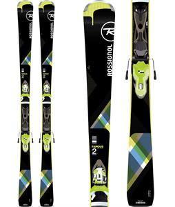 Rossignol Famous 2 Skis w/ XPress W 10 Bindings