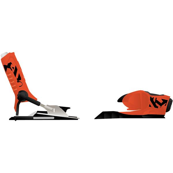 Rossignol Fks 140 B130 Ski Bindings Fluo Orange 130Mm U.S.A. & Canada