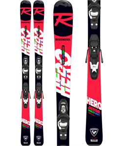 Rossignol Hero Jr Skis w/ Kid 4 GW Bindings
