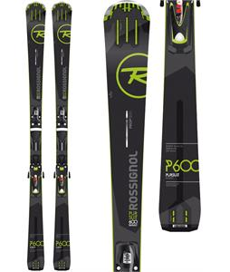 Rossignol Pursuit 600 Skis w/ Axial3 120 Bindings