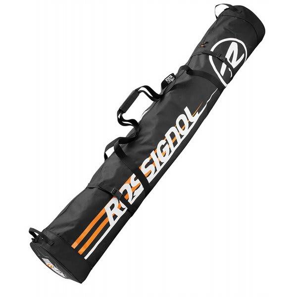 Rossignol Radical 2 / 3P Cross Country Ski Bag Black Tarplin 210Cm U.S.A. & Canada