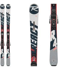 Rossignol React 4 Sport Skis w/ Xpress 11 GW Bindings