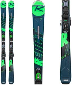 Rossignol React R4 Sport Skis w/ Xpress 10 Bindings