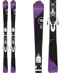 Rossignol Temptation 75 Dark Skis w/ XPress W 10 Bindings
