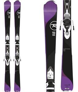 Rossignol Temptation 75 Dark Skis w/ XPress 11 Bindings