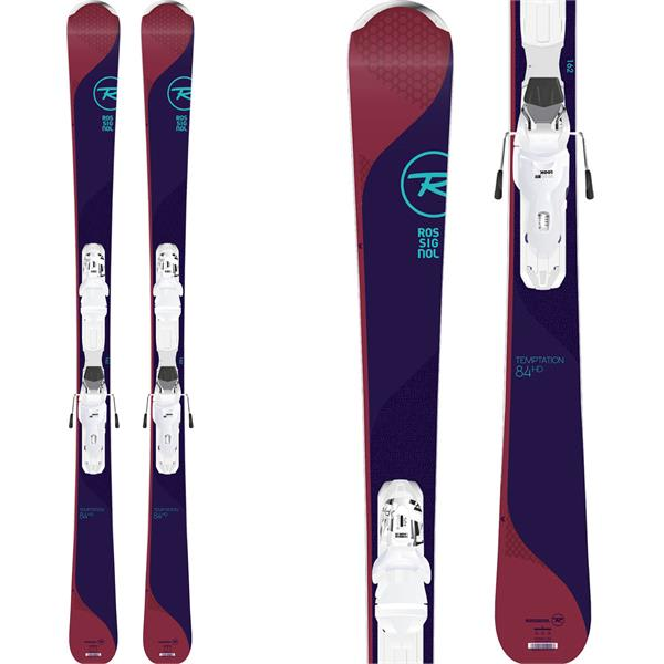 7e7eca05b1 Rossignol Temptation 84 HD Skis w  XPress W 11 Bindings - Womens