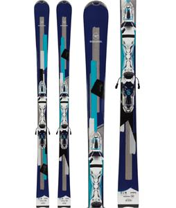 Rossignol Unique 6 Xelium Skis w/ Saphir 110 Bindings