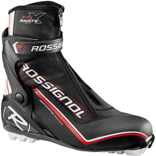 Rossignol X 8 Cross Country Ski Boots Black / Silver U.S.A. & Canada