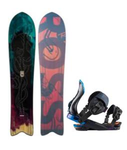 Rossignol XV Sushi LF Light Snowboard w/ Diva Bindings