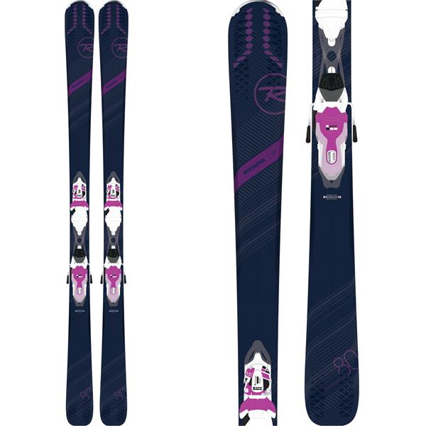Rossignol Experience 80 Ci Skis w/ Xpress 11 Bindings - White/Purple