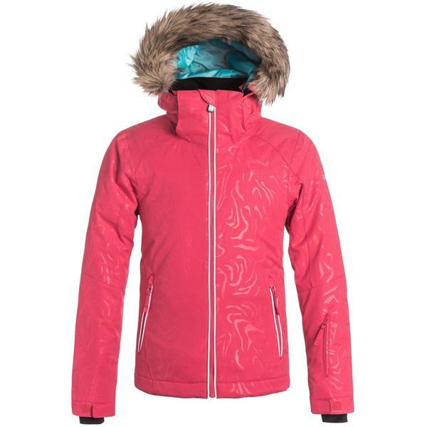 db6573e7b Roxy American Pie Solid Snowboard Jacket - Girls