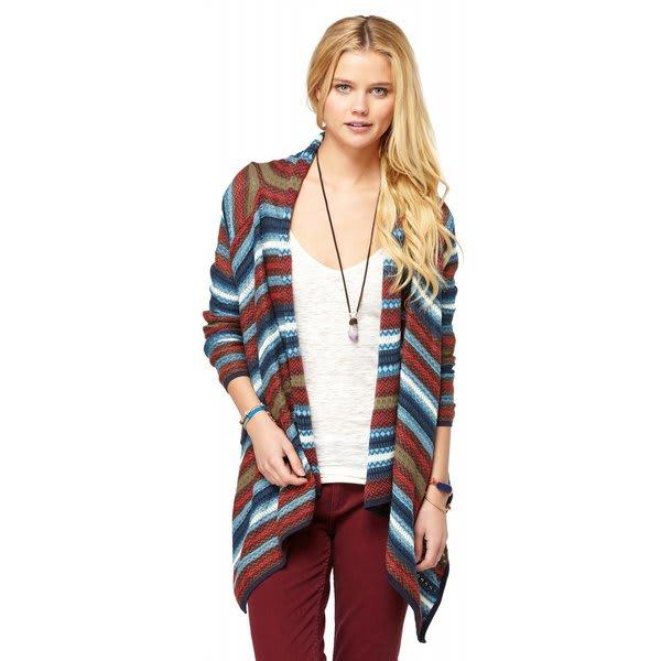 Roxy Arena Cove Sweater Teepee Turq Pattern U.S.A. & Canada