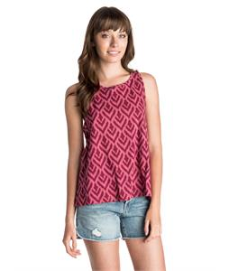 Roxy Climbing Ikat High-Neck Tank
