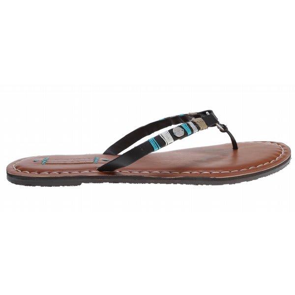 Roxy Daiquiri Sandals Black U.S.A. & Canada