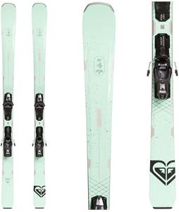 Roxy Dreamcatcher 80 Skis w/ M10 GW Bindings