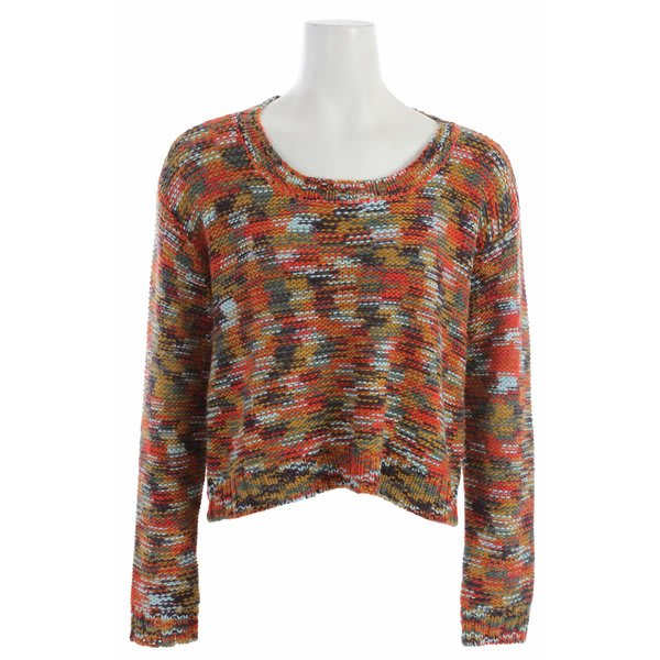 Roxy Elm Sweater Sea Urchin Multi Pattern U.S.A. & Canada