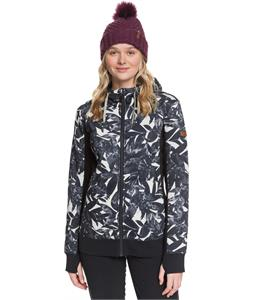 Roxy Frost Printed Zip-Up Hoodie