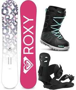 Roxy Glow Snowboard Package