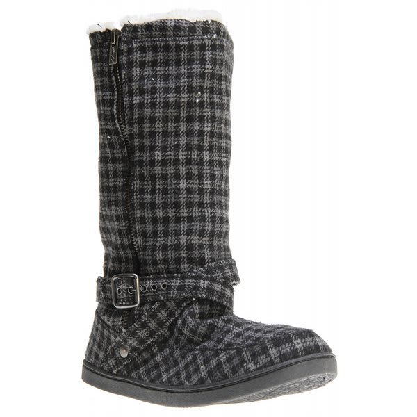 Roxy Hickory Wool Casual Boots Black U.S.A. & Canada