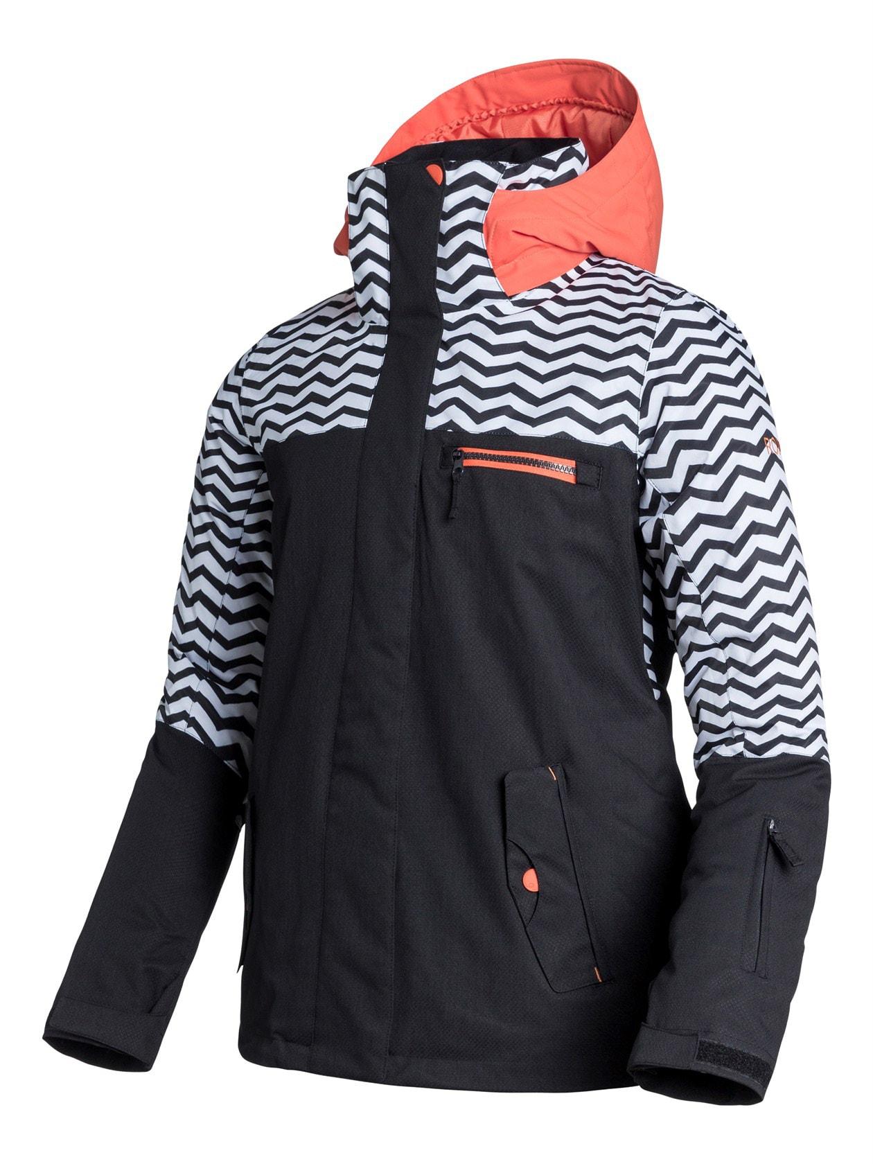 Roxy Jetty Block Snowboard Jacket - thumbnail 2
