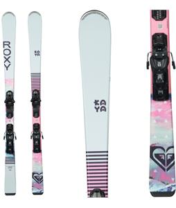 Roxy Kaya 72 Skis w/ M10 GW Bindings