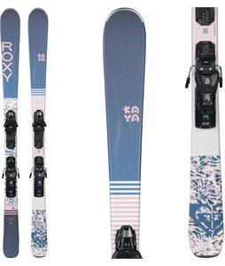 Roxy Kaya 77 Skis w/ M10 GW Bindings