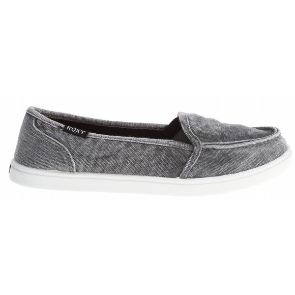 Roxy Lido Shoes Black Enzyme Washed U.S.A. & Canada