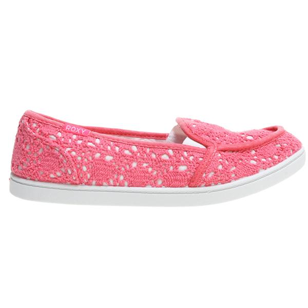 Roxy Lido Crochet Shoes Highlighter Pink U.S.A. & Canada