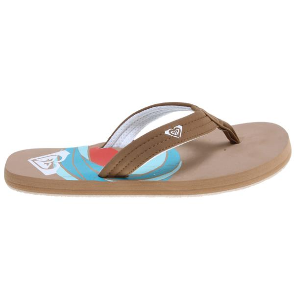 Roxy Low Tide Sandals Tan U.S.A. & Canada