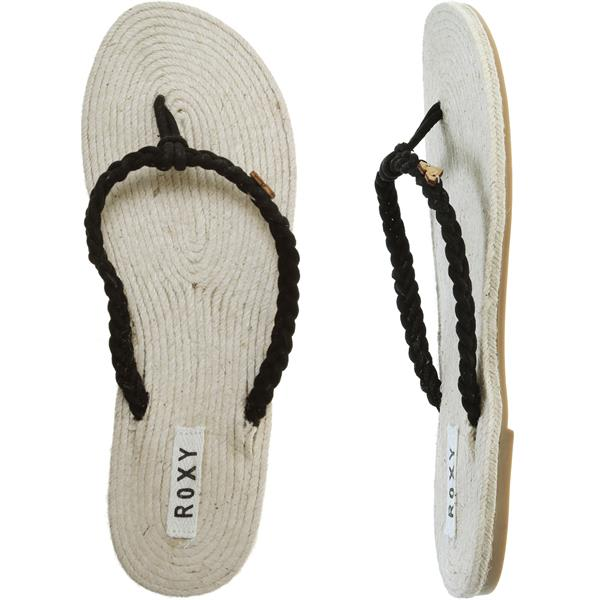Roxy Majorca Sandals Black U.S.A. & Canada