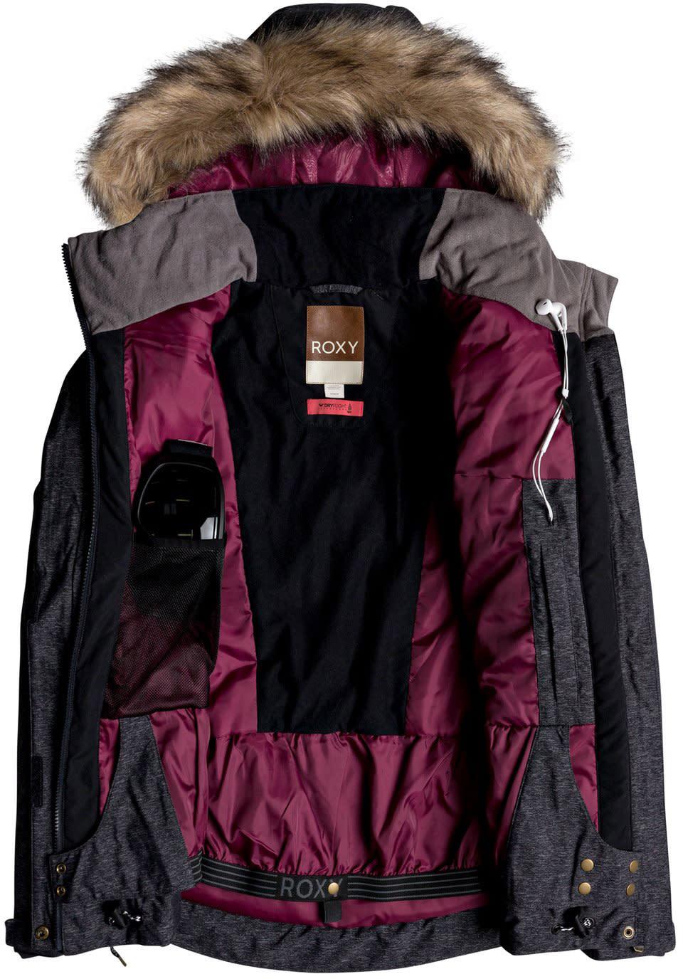 Roxy Women's Meade Snow Jacket, Coral Cloud   Roxy ski