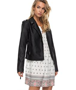 Roxy Midnight Ride Faux Leather Jacket