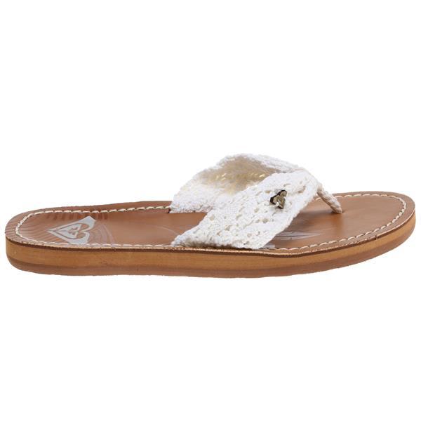 Roxy Palau Sandals White U.S.A. & Canada
