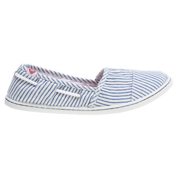 Roxy Pier Cruz Shoes Blue / White Stripes U.S.A. & Canada