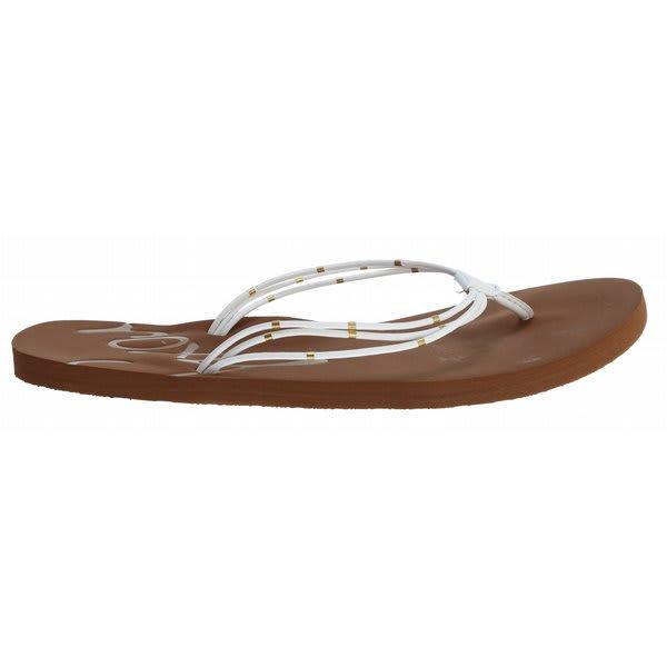 Roxy Rica Sandals White U.S.A. & Canada