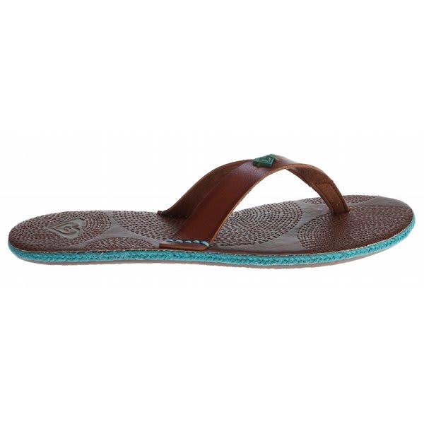 Roxy Santorini Sandals Brown U.S.A. & Canada