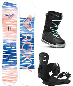 Roxy Sugar Banana Snowboard Package