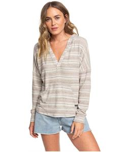 Roxy Sweet Thing Heather Stripes Hooded Top