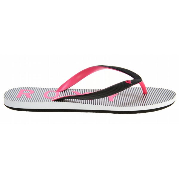 Roxy Tahiti Iii Sandals Black / White Stripes U.S.A. & Canada