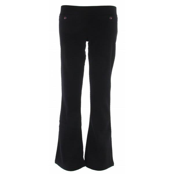 Roxy Tuned In Fleece Pants Black U.S.A. & Canada