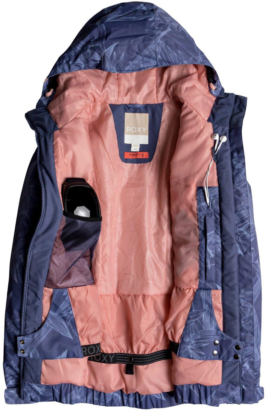 efd3781da72 Roxy-Valley-Hoodie-Snowboard-Jacket-Womens thumbnail 6