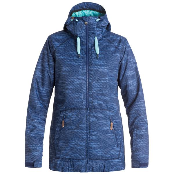 On sale roxy valley hoodie snowboard jacket womens up to 40 off malvernweather Choice Image