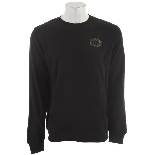 Rvca Hex Sweatshirt Black U.S.A. & Canada