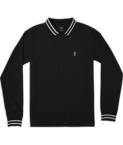 RVCA Hi Grade Anp Long Sleeve Polo Shirt