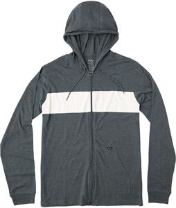RVCA Line Up Zip Hooded Shirt